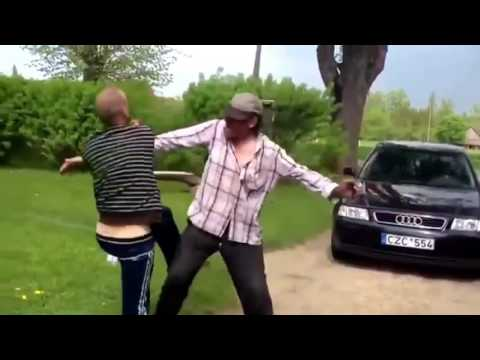 Ozzy Man Reviews: Greatest Drunk Fight Ever (видео)