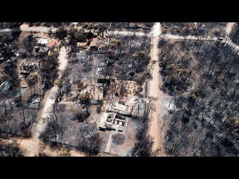 Ελλάδα: Πύρινη λαίλαπα από την Πεντέλη ως τη Ραφήνα