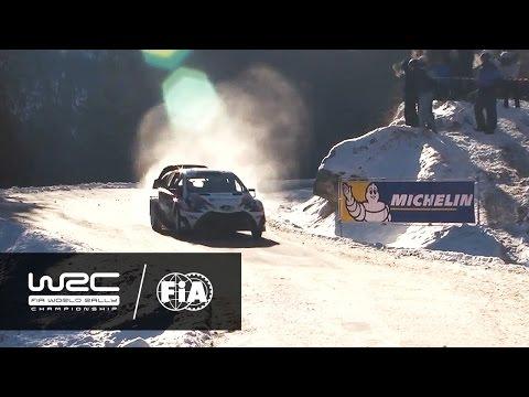 WRC - Rally Montecarlo/ Resumen especiales 3-5