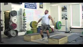 Daily Training 12-19-12 - Weightlifting training footage of Catalyst weightlifters. Brian snatch, Tamara sna