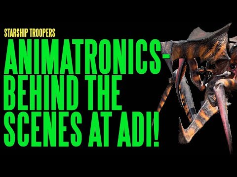 Animatronic - Amalgamated Dynamics, Inc. (http://www.studioadi.com) created a number of animatronic creatures for the 1997 feature STARSHIP TROOPERS, earning an Academy Aw...