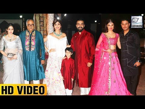 Shilpa Shetty's Grand Diwali Party FULL VIDEO | Bi