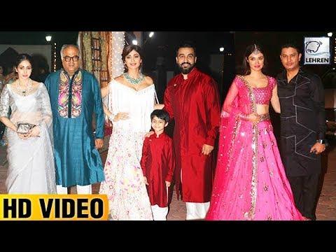 Shilpa Shetty's Grand Diwali Party FULL VIDEO | Bi