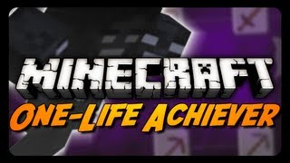 One Life Achiever - S2E4 - WITHER BOSS PREPARATIONS!