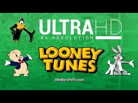 LOONEY TUNES CARTOONS COMPILATION: Bugs Bunny, Daffy Duck and more! (For Children) (Ultra HD 4K)