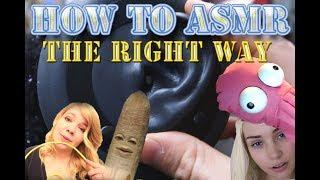 Learn how to ASMR! Whisper sweet nothings in my ear.