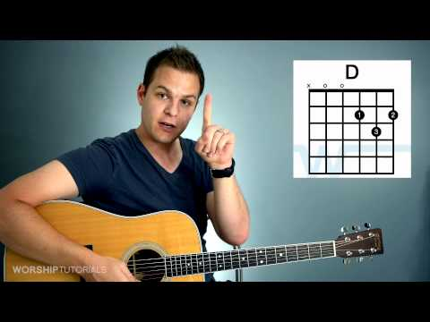 Guitar Lesson - How To Play Your First Chord (видео)