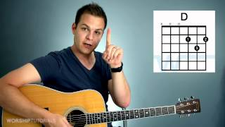 Video Guitar Lesson - How To Play Your First Chord MP3, 3GP, MP4, WEBM, AVI, FLV September 2018