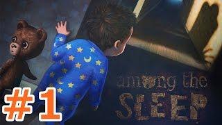 ホラーゲーム - これは現実・・・?夢・・・? - Part1 - Among the Sleep 実況プレイ