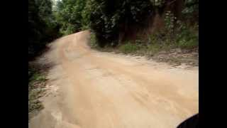 Road To Thong Nai Pan, Koh Phangan Thailand Part 1