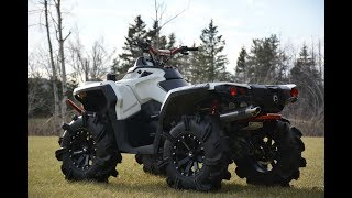1. Can-Am Outlander 800r  HMF sound test and walk around