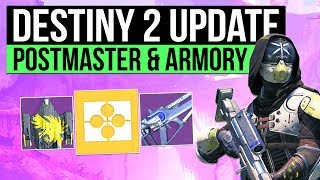 Destiny 2 Info Update - New Postmaster Changes, All Beta Weapons & Armor with New Armory, How to Throw 2 Sentinel Shields Per Super & 8 Player Strike Glitch!▻ LATEST DESTINY 2 GUIDEShttps://www.youtube.com/playlist?list=PL7I7pUw5a282KrtVZEeCChYgyjsa3kd_2▻Use code 'Houndish' for 10% off KontrolFreek Productshttp://www.kontrolfreek.com?a_aid=Houndish- D2 Beta Armory https://lowlidev.com.au/destiny/beta-viewer- 8 Player Strike Glitch https://www.reddit.com/r/DestinyTheGame/comments/6oi76j/so_i_just_accidentally_loaded_into_an_8_man_strike/▻SUBSCRIBE for more destiny videoshttps://www.youtube.com/subscription_center?add_user=Houndishgiggle1910▻SAVE 5% ON DESTINY 2 FOR PC https://uk.gamesplanet.com/game/destiny-2-battlenet-key--3314-1?ref=hound▻Say Hi on Twitterhttps://twitter.com/xHOUNDISHx- If you enjoy my content, consider checking out my Patreon page. You can support the channel and earn awesome rewards. I appreciate you all regardless :) https://www.patreon.com/Houndish- Music: Lensko - Circles & Veorra - Home