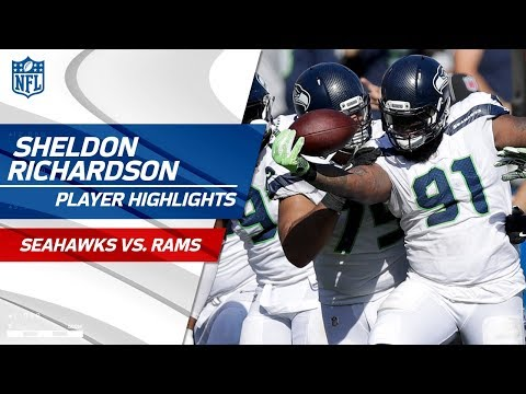 Video: Sheldon Richardson's Tipped INT & Fumble Recovery | Seahawks vs. Rams | Wk 5 Player Highlights