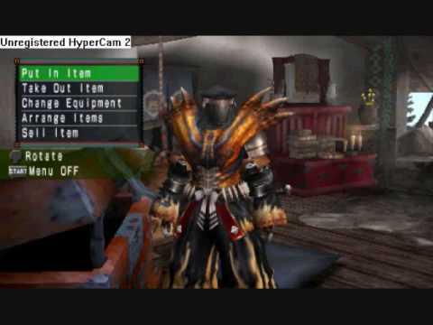 monster hunter freedom 2 psp cheat