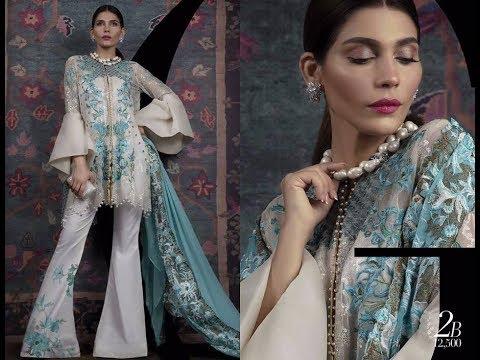 Sana Safinaz Latest Luxury Eid Collection 2017 For Women (видео)