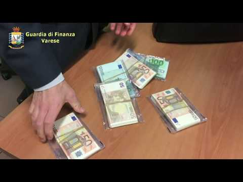 Traffico di valuta, multe per 600mila euro a Malpensa. Scoperte due cinesi in arrivo da Alba e Giulianova VIDEO