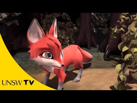 fox animation - A dare between two fox cubs leads to an unexpected good deed. Animation from COFA graduates William Algar-Chuklin and Leanne Wong. For more info about COFA's...