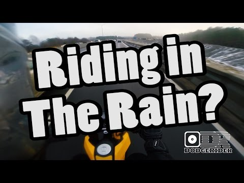 Riding a Motorcycle in the Rain??