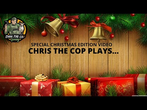 Chris THE COP Plays... unwrap and see...