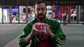 E3 2017 Super Mario Odyssey Shirts Grows Bigger When OpenedBrief Summary:  Nintendo gave away these awesome Super Mario Odyssey shirts!  To get one you needed to play the demo plus four extra games.  Then show your passport to the crazy cap shop to get your shirt.  I open the shirt to reveal what it looks like!  It is compressed into a very small bag.  Watch to see what the shirt looks like when opened!  Enjoy!  Please like comment and subscribe!