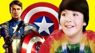 BONUS: KIDS REACT to Captain America (Kids React #21)