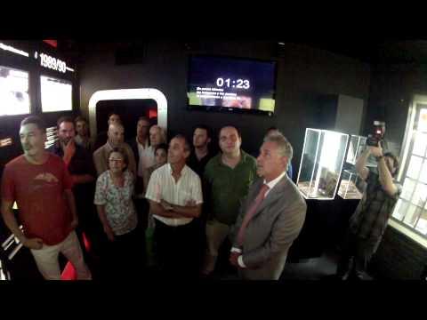 River le rindió un homenaje a Claudio Morresi
