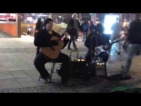 Street Music Berlin No2 am ICC Januar 2018
