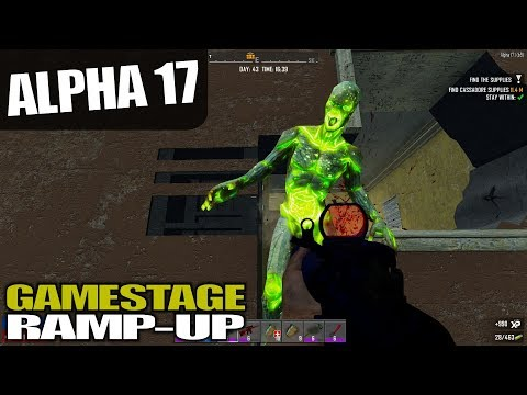 ALPHA 17 | TRADER SEARCH & MORE QUESTING | 7 Days to Die Alpha 17 Gameplay | S17.3E61