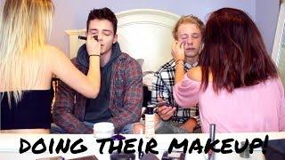 GIRL'S DOING BOY'S MAKEUP! *they freak out* | kai alexandra
