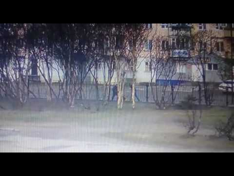 На Сахалине жестоко избили полицейского