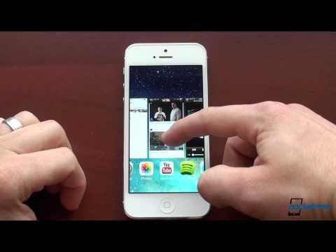 Apple iOS 7 Hands-On