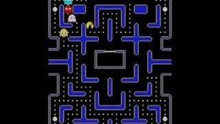 Last 4 levels of Ms. Pacman