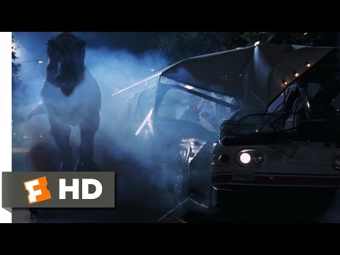 The Lost World: Jurassic Park (9/10) Movie CLIP - Downtown Rampage (1997) HD (видео)
