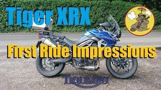 3. Triumph Tiger 800 XRX Low Ride Height Variant - Quick Ride Review