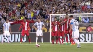 Lionel Messi 19 Min Hat Trick vs Panama