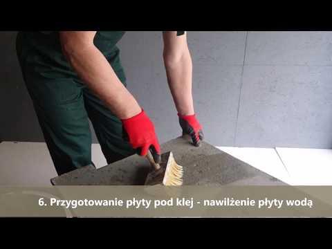 Montaż dekoracyjnych płyt betonowych - Tralbet.pl