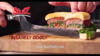 OFFICIAL STUFZ stuffs stufs stuffz stuffed burger commercial