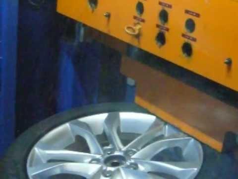 Испытание диска WSP Italy W563 Seattle на удар спицы (Audi)