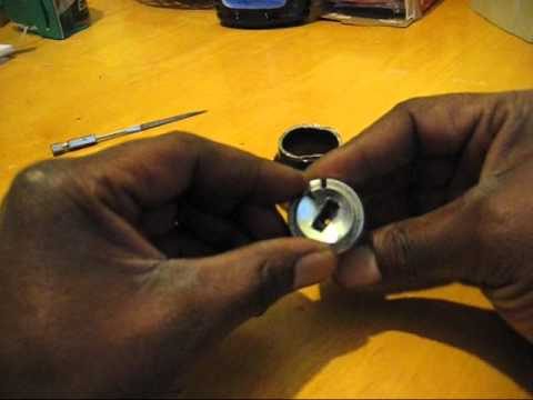 HOW TO REPLACE IGNITION LOCKING CYLINDER ON A MERCEDES BENZ ANTI THEFT CAP