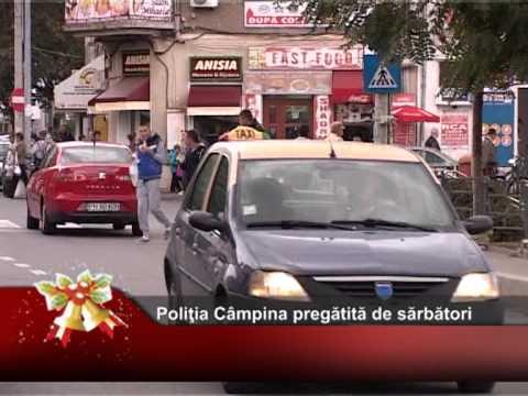 Poliţia Locală Câmpina – pregătită de sărbători