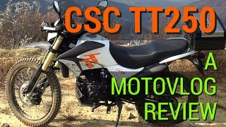 6. CSC TT250 Review - A Chinese Dual Sport Enduro Motorcycle - Bedford Road & Main Divide