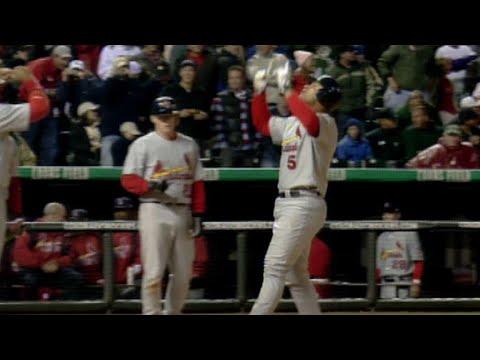 Video: Pujols hits go-ahead, three-run homer