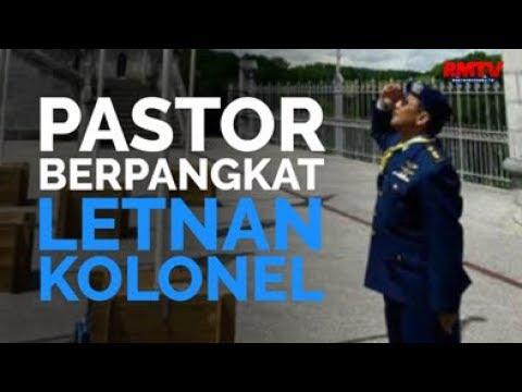 Pastor Berpangkat Letnan Kolonel