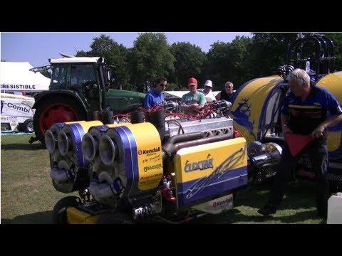 Tractorpulling - 31e Grand National Tractor Pulling te Eext [ Netherlands ]. Daverende sport evenement NTTO , een gehele samenvatting van het jaarlijkse evenement op 6 Juli 2...