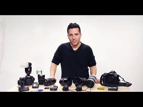 Wedding Photography Tips: Gear Bag with Moshe Zusman (видео)