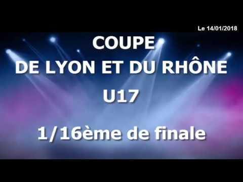 Coupe de Lyon et du Rhône - 1/16ème de Finale