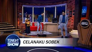 Video Vincent Ketiban Sial Celananya Robek saat Live MP3, 3GP, MP4, WEBM, AVI, FLV September 2018