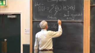 004 Commutators And Time Evolution (the Time Dependent Schrodinger Equation)