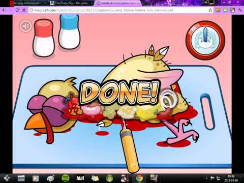 Cooking Mama , Mama Kills Animals :- Lets Make Some Turkey :D