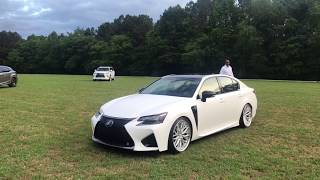 The #OMGSF is no longer blue! It is now satin white and available at Nalley Lexus of Roswell! Featuring Vossen x Work VWS-2 wheels! This was taken at their amazing Lexus LC 500 launch event in Atlanta. Apexi Exhaust - Nitto Tires -